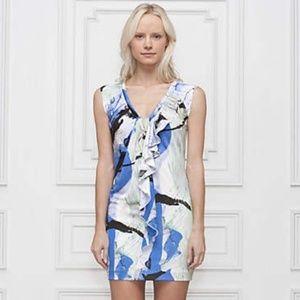 Leifsdottir Anthro Lake Reflection mini dress
